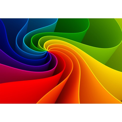 Duvar Tasarım DC 2302 Colors Kanvas Tablo - 50x70 cm