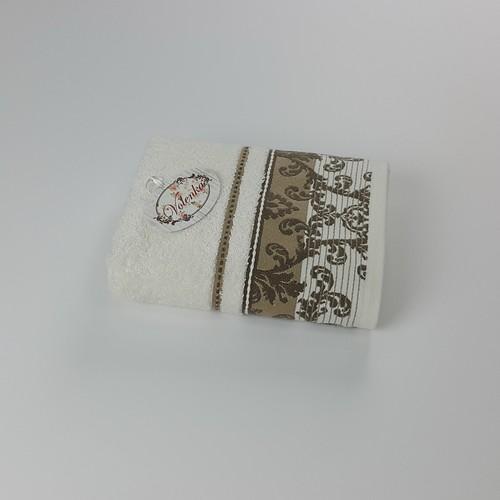 Volenka Otto Jakarlı Havlu 90*150 Krem