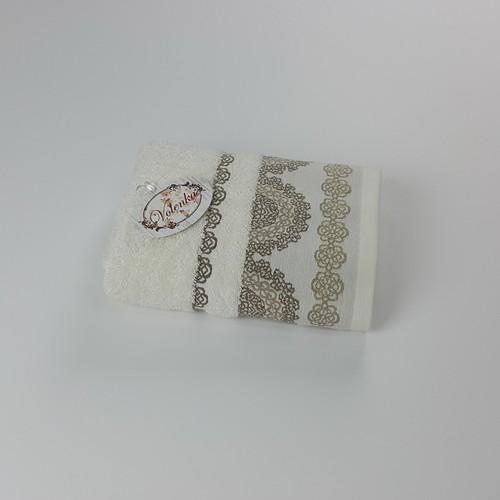 Volenka Elegance Jakarlı Havlu 90*150 Krem