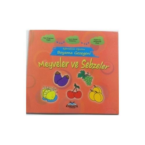 Eğlendiren öğreten Boyama Gezegeni Meyveler Ve Sebzeler Fiyatı