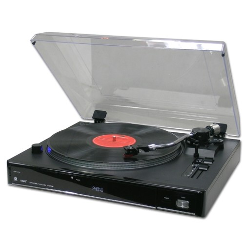 Verto Professional Turntable With Usb/Sd Encode