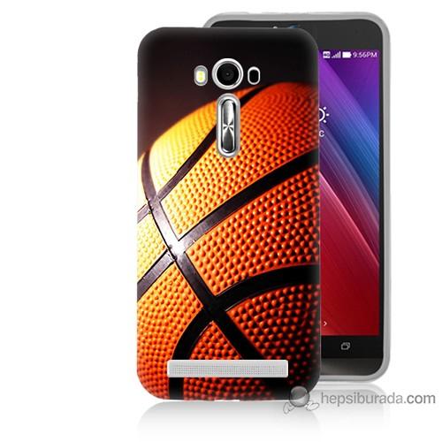 Teknomeg Asus Zenfone Laser 5.5 Kapak Kılıf Basketbol Baskılı Silikon