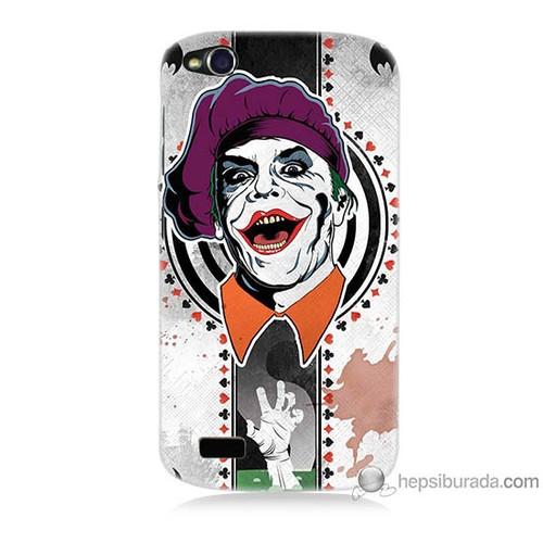 Teknomeg General Mobile Discovery Kapak Kılıf Joker 21 Baskılı Silikon