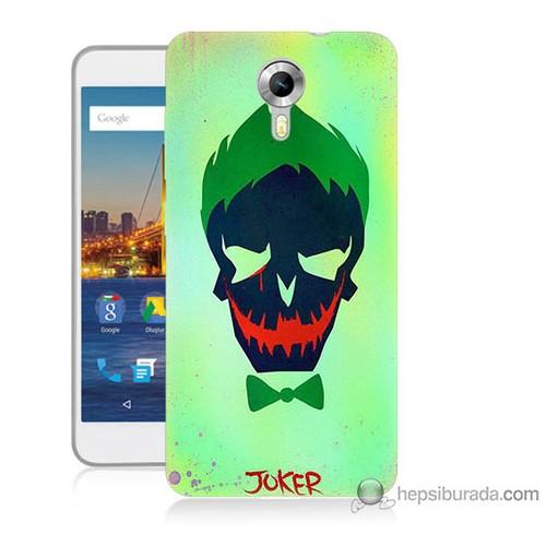 Teknomeg General Mobile Discovery 4g Kapak Kılıf Joker Baskılı Silikon