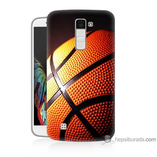 Teknomeg Lg K7 Kapak Kılıf Basketbol Baskılı Silikon