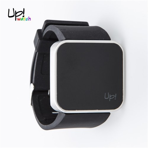 Up Watch Saat Touch Shiny Silver Edition