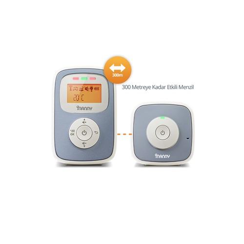 İnanny N30 Dect Dijital Ekranlı Bebek Telsizi