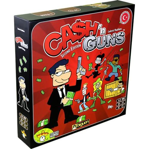 Asmodee Cash'n Guns Kutu Oyunu