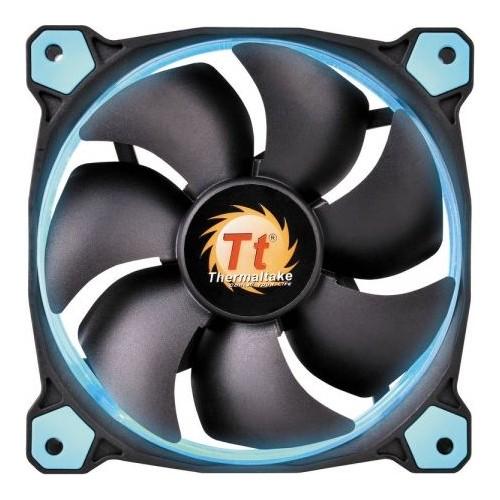 Thermaltake Riing 12cm Yüksek Statik Basınçlı Mavi Halka Ledli Kasa&Radyatör Fanı CL-F038-PL12BU-A