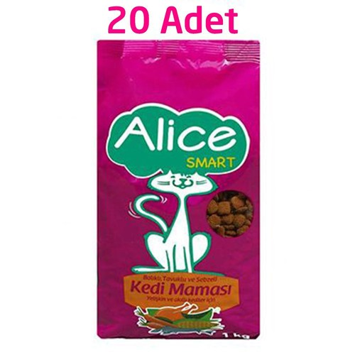 Alice Smart Kedi Maması 20 Kg