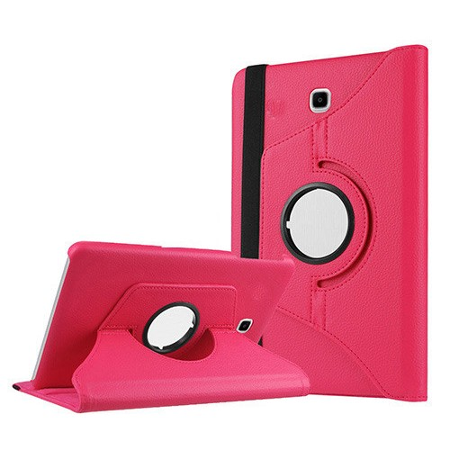 Kılıfland Samsung Galaxy Tab S2 T710 Kılıf 360 Standlı Pembe+Film+Kalem