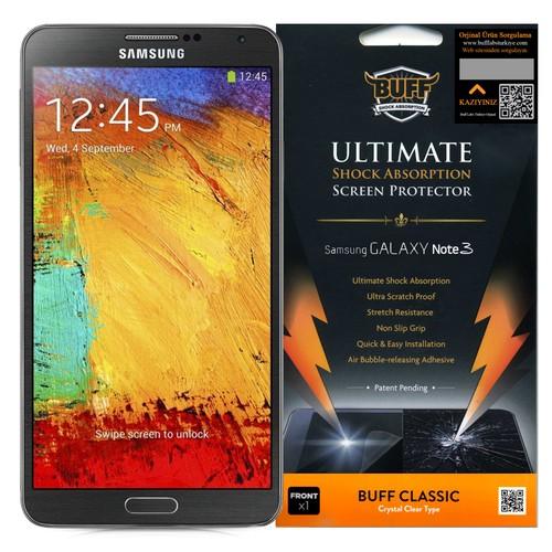 Buff Galaxy Note 3 Ekran Koruyucu Film Çizilmez