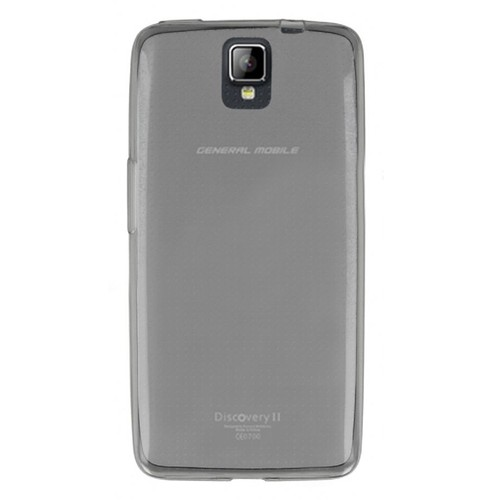 Mobil Shop General Mobile Discovery 2 Kılıf 0.2MM Silikon