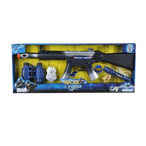 Sunman 0033220 Sun Silah Set Polis Asker Bomba Fener 4 Parça .Ses Işık Titreşim-Yfn-Dbo