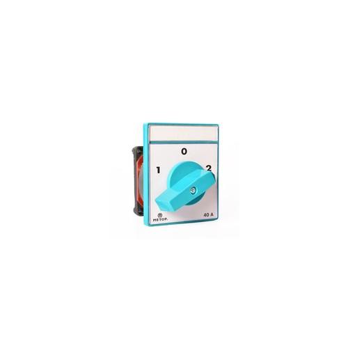 Metop Pako Şalter Kutup Değiştirici(2-0-1) 1P 40A Mt 027