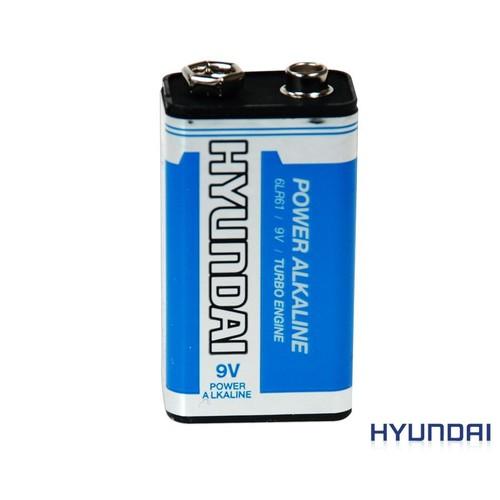 Hyundai 9 Volt Power Alkaline Pil Kd