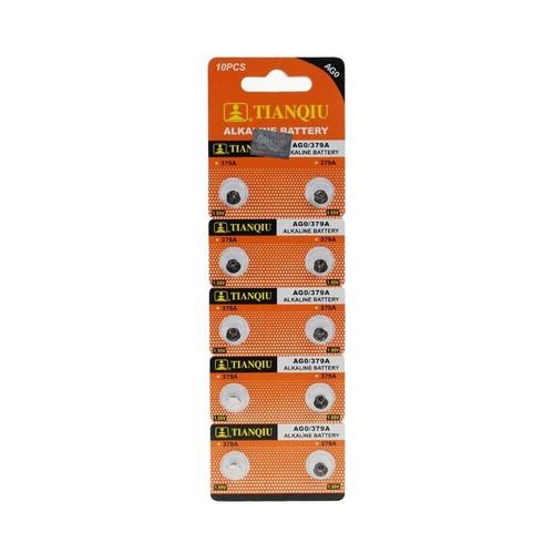 Oxford Ag0 Lr521 379 Alkaline Düğme Pil 10 Adet