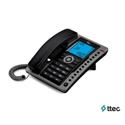Ttec Tk6101 Masa Üstü Telefon Siyah-A.Gümüş