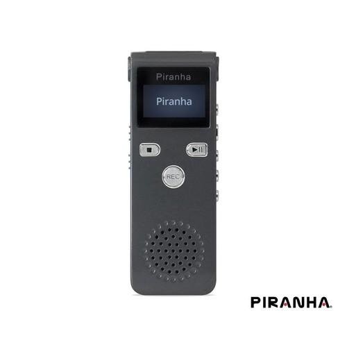 Piranha Voicemaster Q Type 8 Gb Lcd Ekranlı Ses Kayıt Cihazı