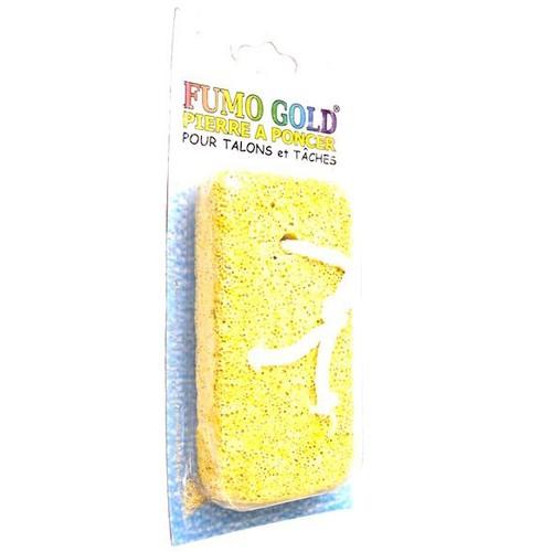 Fumo Gold Topuk Taşı Sarı