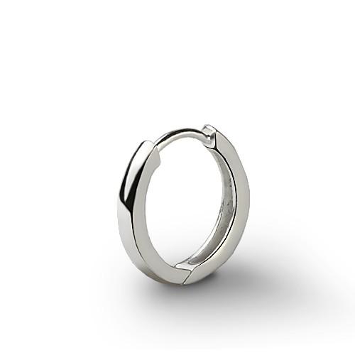 Ejoya 15 Mm Gümüş Erkek Küpesi