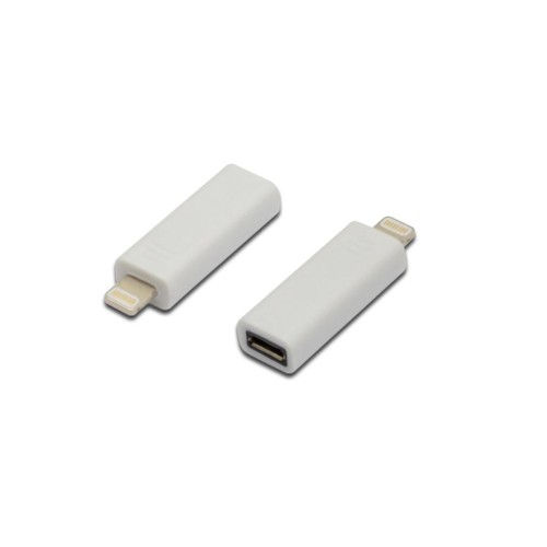 İphone Adaptörü, Apple 8Pin Erkek - Micro Usb B Dişi