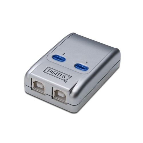 Digitus Usb Sharing Switch, Usb 2.0, 2 Pc, 1 Usb Cihaz
