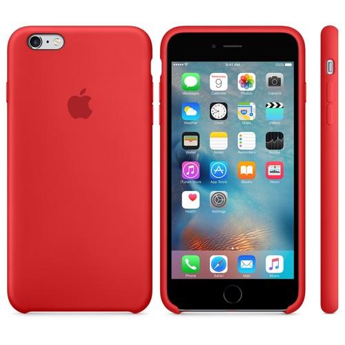 Case 4U Apple iPhone 6 - 6S Silikon Kılıf - Kırmızı