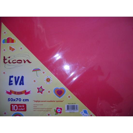 Ticon Eva 2Mm 50*70Cm Kırmızı