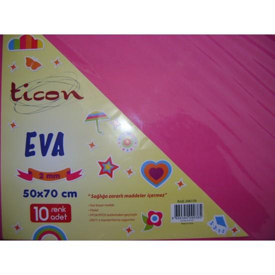 Ticon Eva 2Mm 50*70Cm Pembe