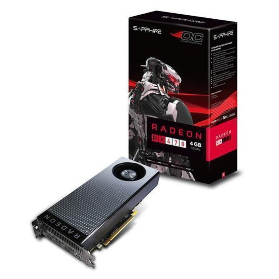 Sapphire Amd Radeon RX 470 4GB OC 256Bit GDDR5 (DX12) PCI-E 3.0 Ekran Kartı 11256-00-20G