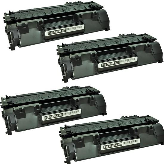 Calligraph Hp LaserJet Pro 400 MFP M425dw Toner 4 lü Ekonomik Paket Muadil Yazıcı Kartuş