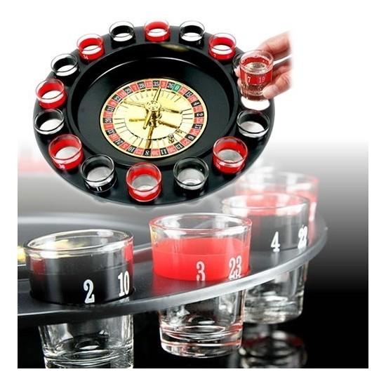 BuldumBuldum Drinking Roulette - Rulet Shot Oyunu - 6 Bardaklı