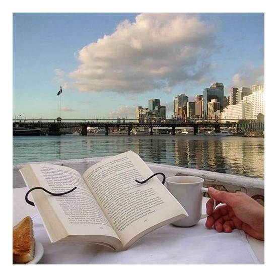 BuldumBuldum Gimble Book Holder - Ayraçlı Kitap Okuma Standı