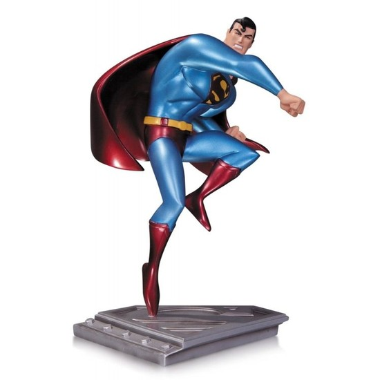 DC Collectibles Superman The Man of Steel Superman The Animated Series Statue