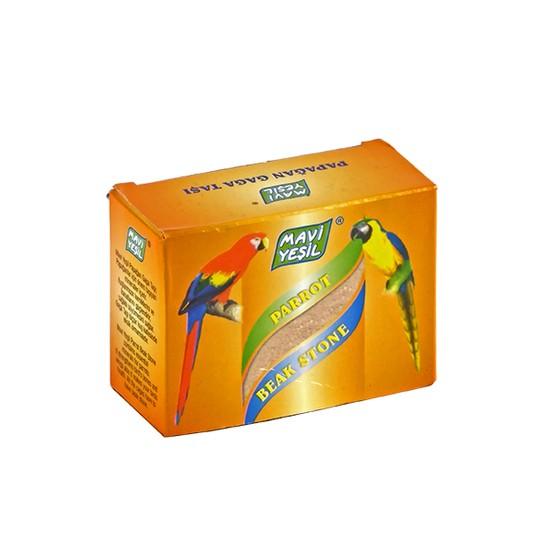 Mavi Yeşil Papağan Gaga Taşı
