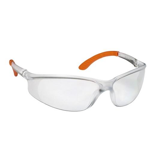 Viola Valente Cross 602 Koruyucu Gözlük Şeffaf Lens Buğulanmaz