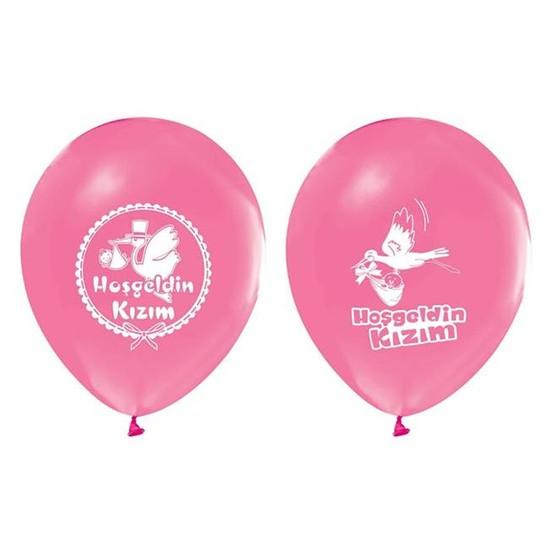 Tahtakale Toptancısı Balon 1+1 Hoşgeldin Baskılı Pastel (20 Adet)