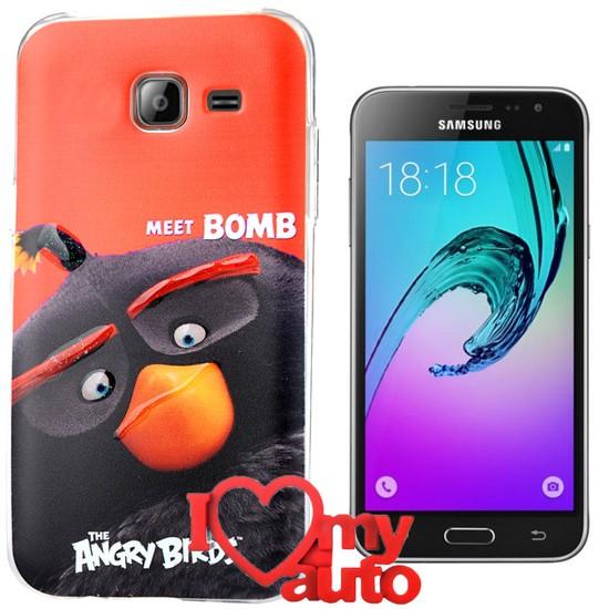 CoverZone Samsung Galaxy S7 Edge Kılıf Angry Meet Bomb + 3d Araç Kokusu