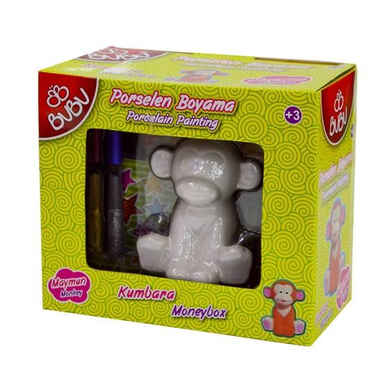 Bu-Bu Porselen Boyama Kumbara Maymun BUBU-PB0015