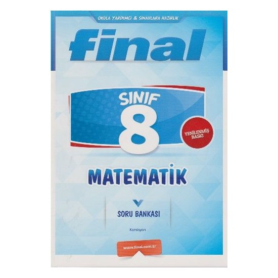 Final Yayınları 8. Sınıf Matematik Soru Bankası