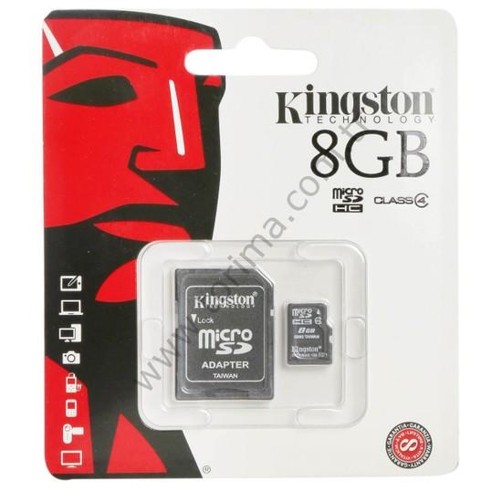 Kingston SDC4 8GB Hafıza Kartı