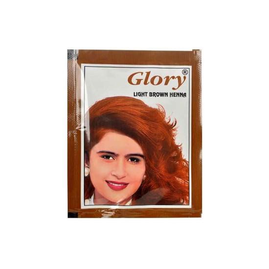Glory Henna Açık Kahverengi Hint Kınası