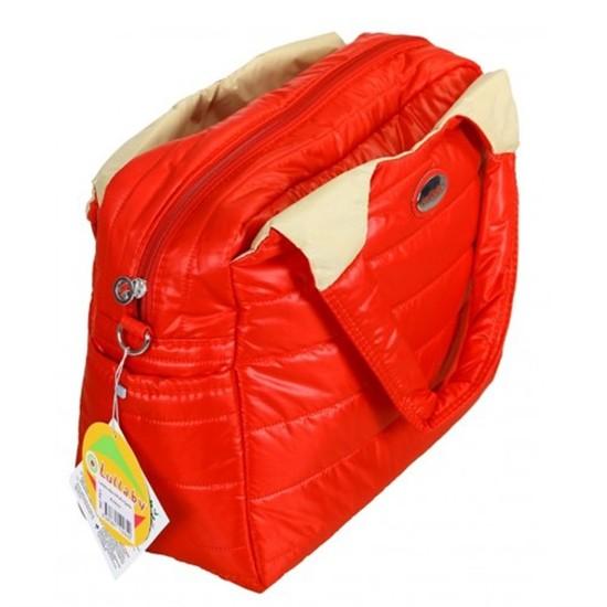Lullaby 256 Star-9 Puflu Çanta Kırmızı