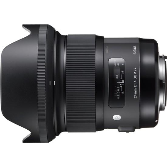 Sigma 24mm F1.4 DG Hsm ART Nikon Uyumlu Objektif 401955