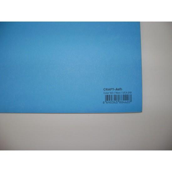 Umix Craft & Arts Fon Kartonu 160Gr 50*70Cm Mavi