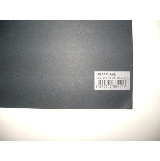Umix Craft & Arts Fon Kartonu 160Gr 50*70Cm Siyah
