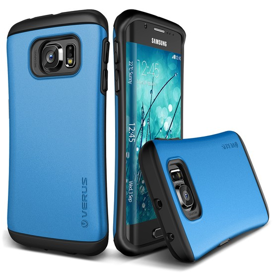 Verus Galaxy S6 Edge Thor Kılıf HARD DROP Electric Blue