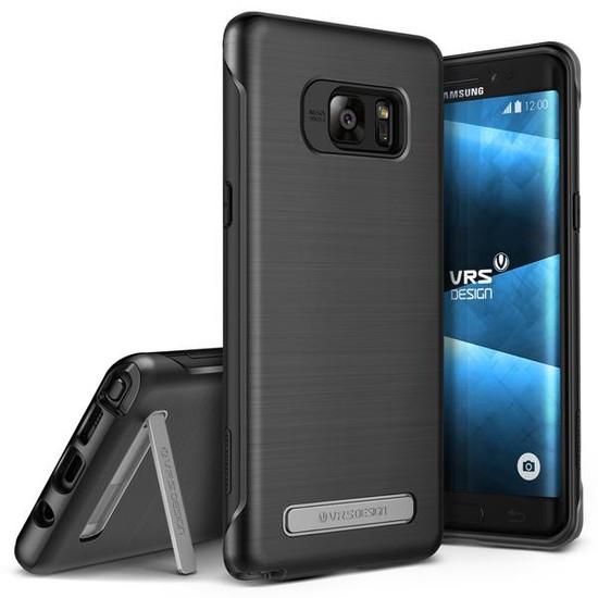 VRS Galaxy Note 7 / Note FE Duo Guard Kılıf Light Silver