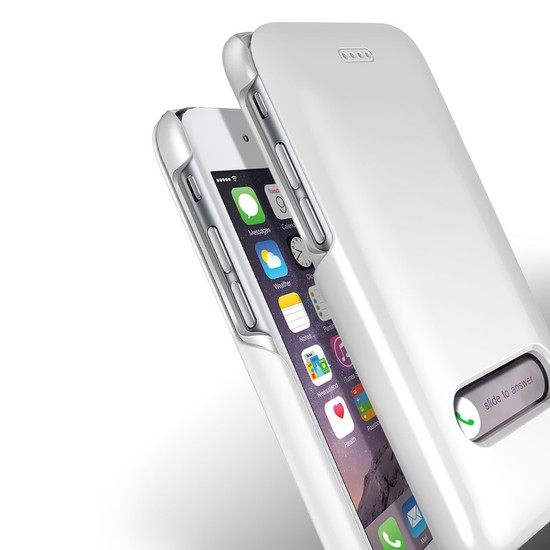 Verus iPhone 6/6S 4.7 Slim Hard Slide Kılıf Pearl White